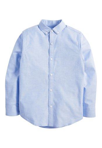 BLUE LONG SLEEVE OXFORD SHIRT (3-16YRS) - Camicia - blue