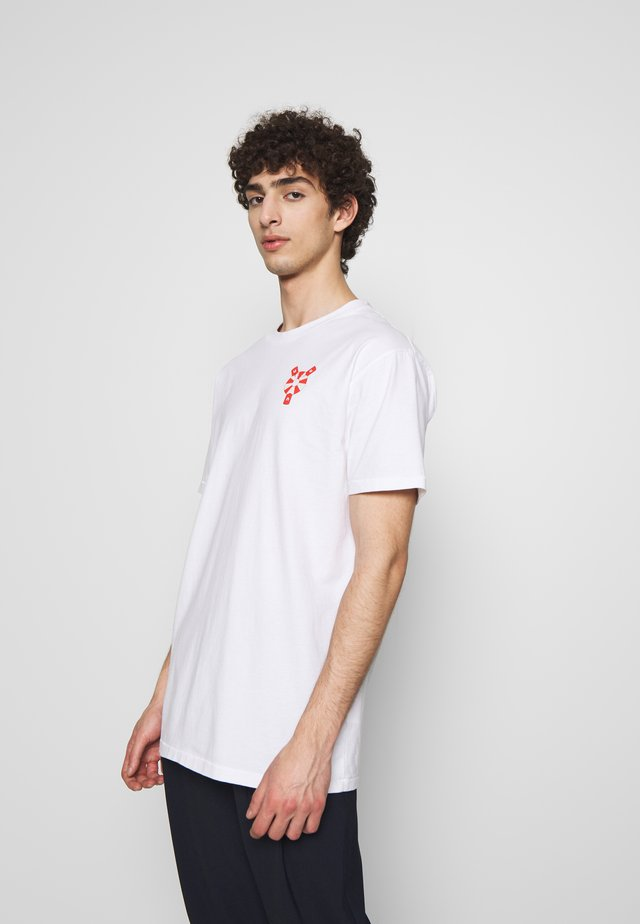 THE TEE - T-shirts med print - white