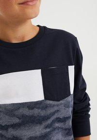 WE Fashion - MET DESSIN - Long sleeved top - dark blue - 1