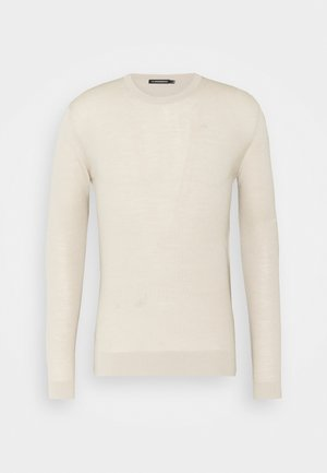 CREW NECK - Jumper - sand grey