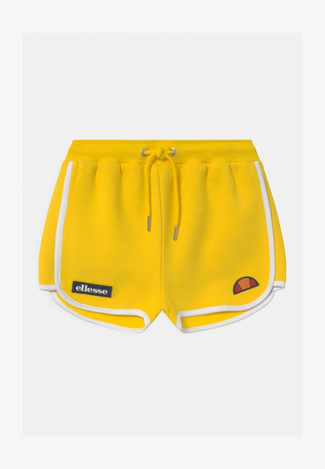VICTENA - Tracksuit bottoms - yellow