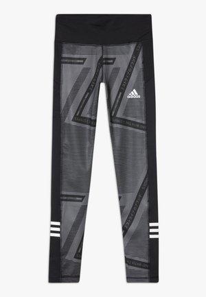 Leggings - grey six/black/white