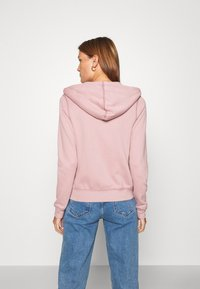 Abercrombie & Fitch - LONG LIFE FULL ZIP - Zip-up hoodie - pink - 2
