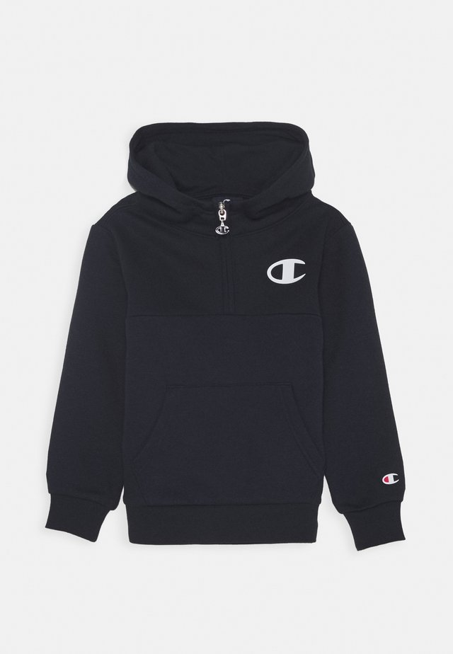 LEGACY AMERICAN CLASSICS HOODED HALF ZIP - Sweat à capuche - navy