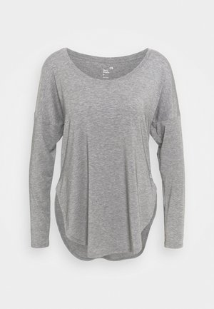 BREATHE - Top sdlouhým rukávem - heather grey