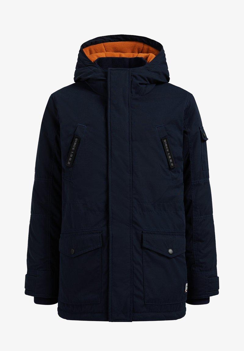 WE Fashion - MET CAPUCHON - Winter coat - dark blue