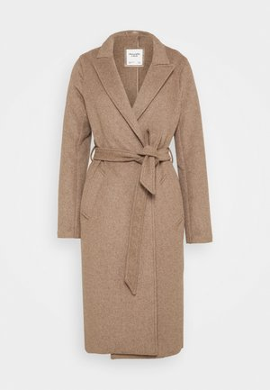 BELTED DAD COAT - Abrigo - oatmeal heather