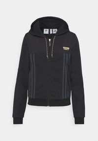 adidas Originals - ZIP HOODIE - Zip-up hoodie - black - 5