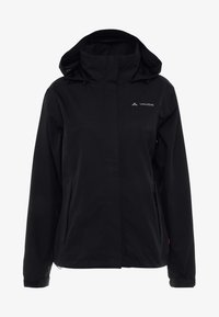 Vaude - WOMANS ESCAPE LIGHT JACKET - Waterproof jacket - black - 6
