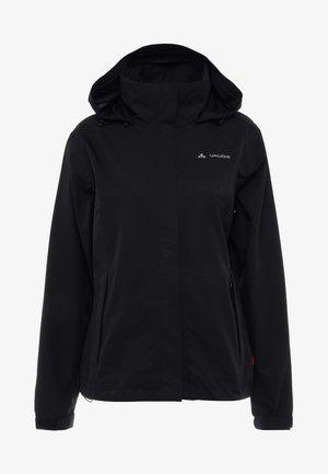 WOMANS ESCAPE LIGHT JACKET - Waterproof jacket - black