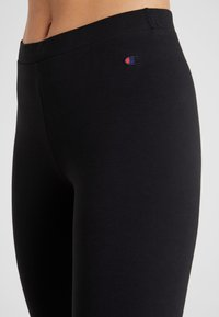 Champion - LEGGINGS - Legginsy - black - 3