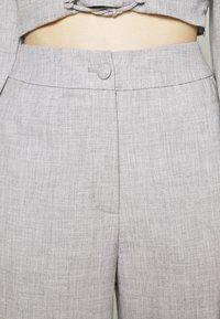 Fashion Union - DURAN TROUSER - Trousers - grey - 5