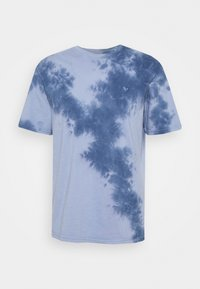 American Eagle - STAMP TIE DYE - T-shirt con stampa - blue - 4