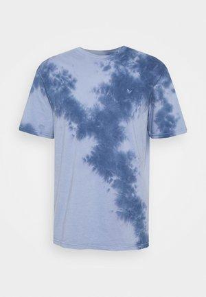 STAMP TIE DYE - Print T-shirt - blue