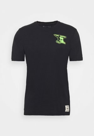 ROCK WRECKING CREW - Camiseta estampada - black