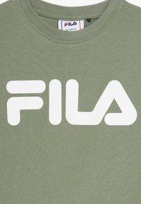 Fila - CLASSIC LOGO TEE - T-shirt print - sea spray - 3