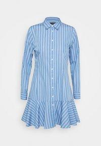Lauren Ralph Lauren - DRESS - Shirt dress - blue/white - 4