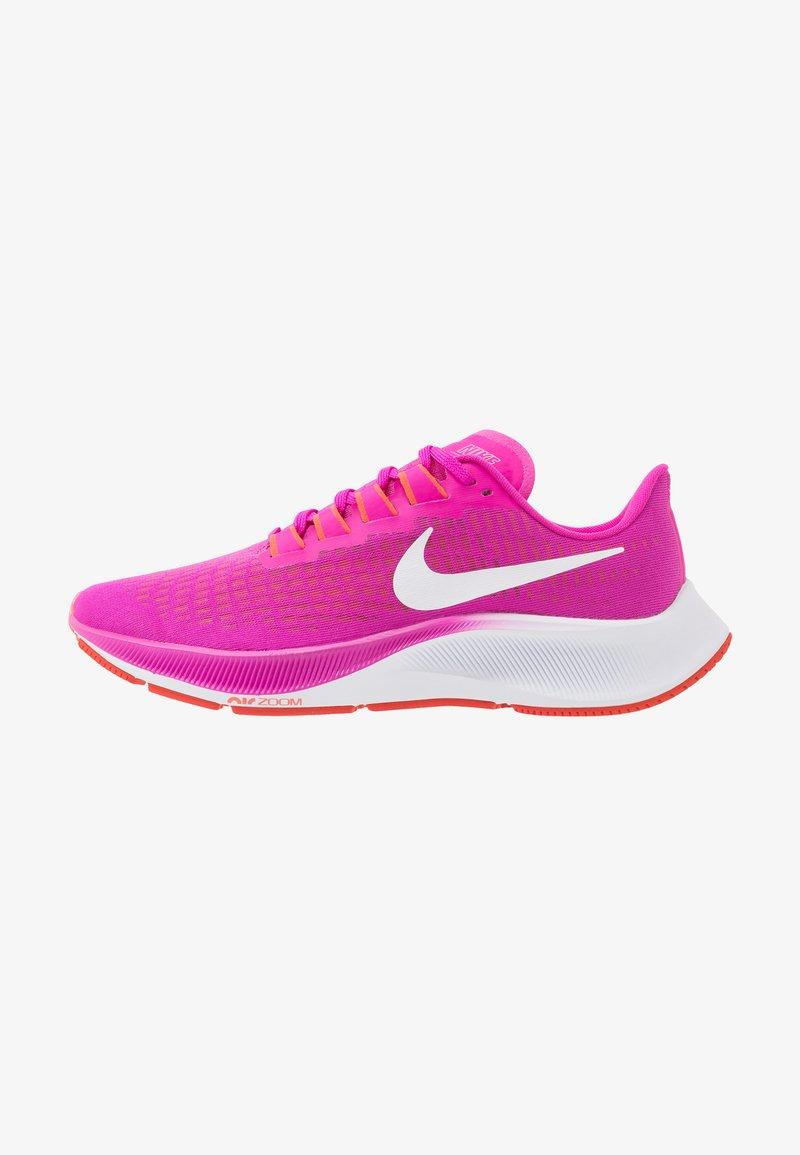 Nike Performance - AIR ZOOM PEGASUS 37 - Neutral running shoes - fire pink/white/team orange/magic ember