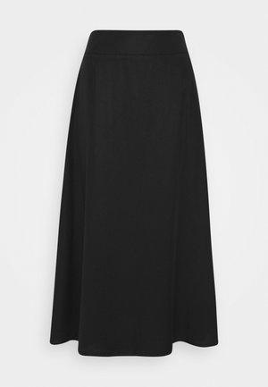 DURER - A-line skirt - black