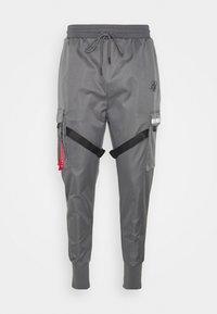SIKSILK - COMBAT TECH CARGO PANTS - Cargo trousers - light grey - 6