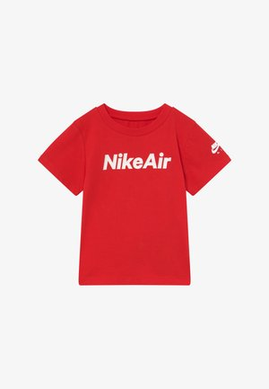 AIR TEE - Print T-shirt - university red