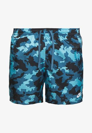 FLOW  - Short - cerulean/thunderstorm/white
