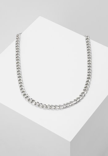 CHAIN BAR - Halsband - silver-coloured
