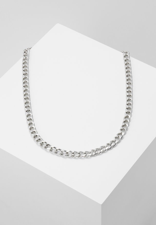 CHAIN BAR - Necklace - silver-coloured