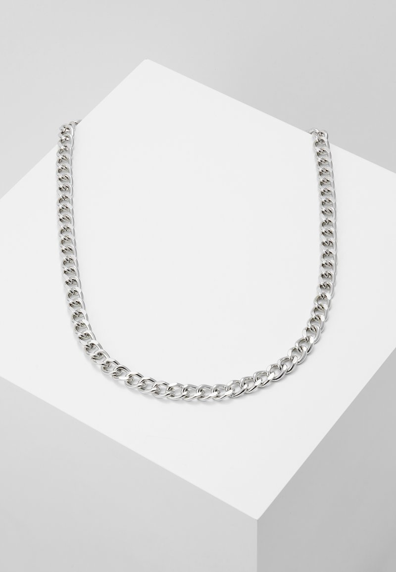 Topshop - CHAIN BAR - Halskæder - silver-coloured