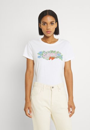 GRAPHIC JORDIE TEE - Print T-shirt - white
