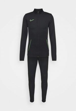 DRY ACADEMY SUIT SET - Treningsdress - black/green strike