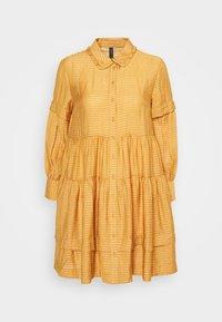 YASLORI DRESS - Sukienka letnia - brown sugar