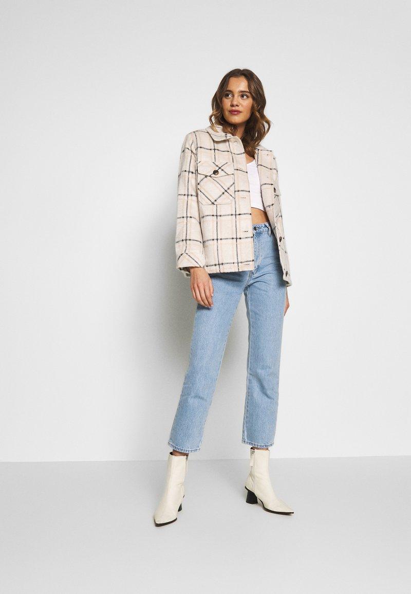 Even&Odd - 2 PACK - Maglietta a manica lunga - pale mauve/white