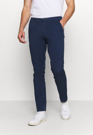 SLHSLIM MILES FLEX PANTS - Chinot - insignia blue