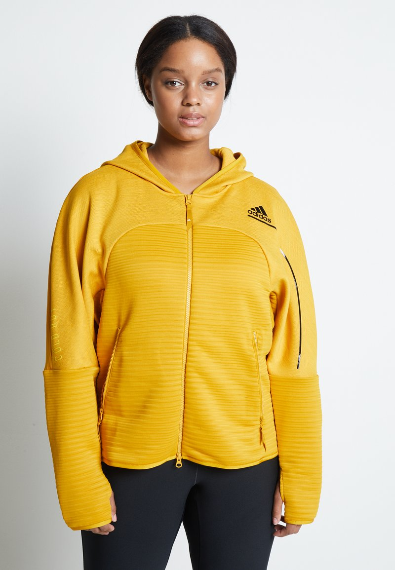 adidas Performance - Sports jacket - yellow