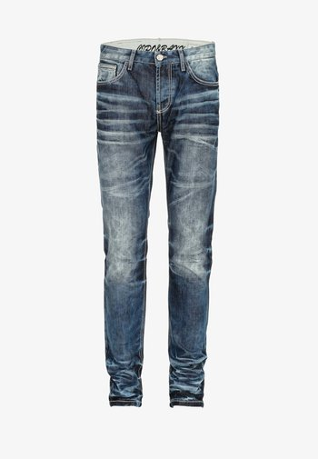 JUSTICE - Straight leg jeans - blue