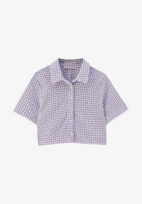 PULL&BEAR - Košile - dark purple - 4