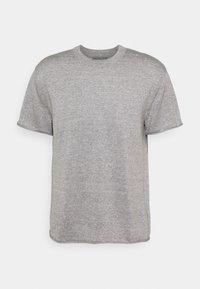 Icebreaker - FLAXEN CREWE - T-shirt imprimé - slate - 4