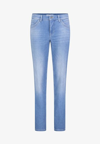 MELANIE  - Bootcut jeans - light blue