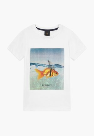PACEN TEE - T-Shirt print - bright white