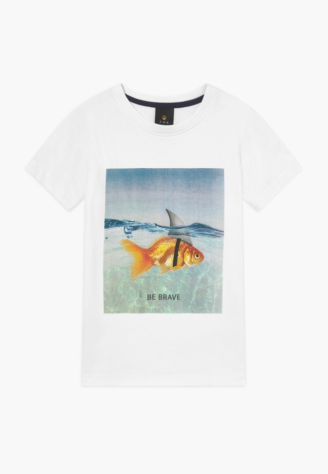 PACEN TEE - T-shirts print - bright white