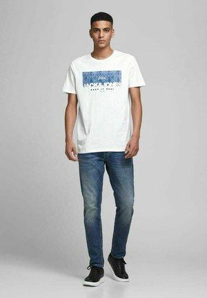 3PACK - T-shirt print - faded denim