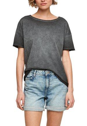 MIT WASCHEFFEKT - Basic T-shirt - black
