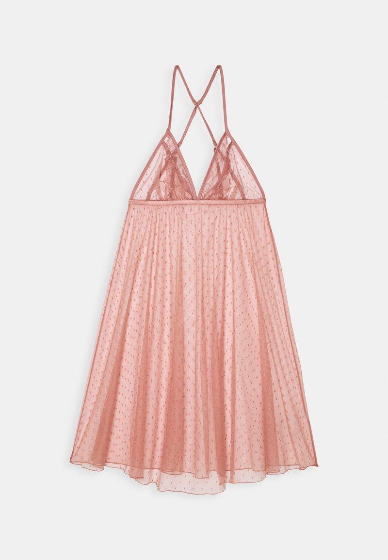 Women Secret - SHORT NIGHTDRESS - Noční košile - pink