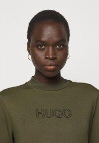 HUGO - DASSY - Jersey dress - beige/khaki - 3