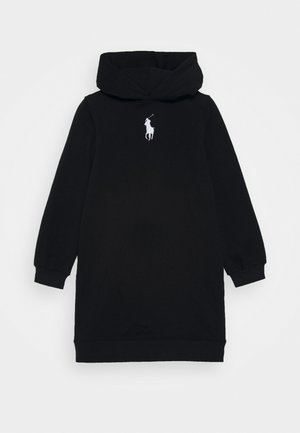 HOOD DRESS - Robe d'été - black