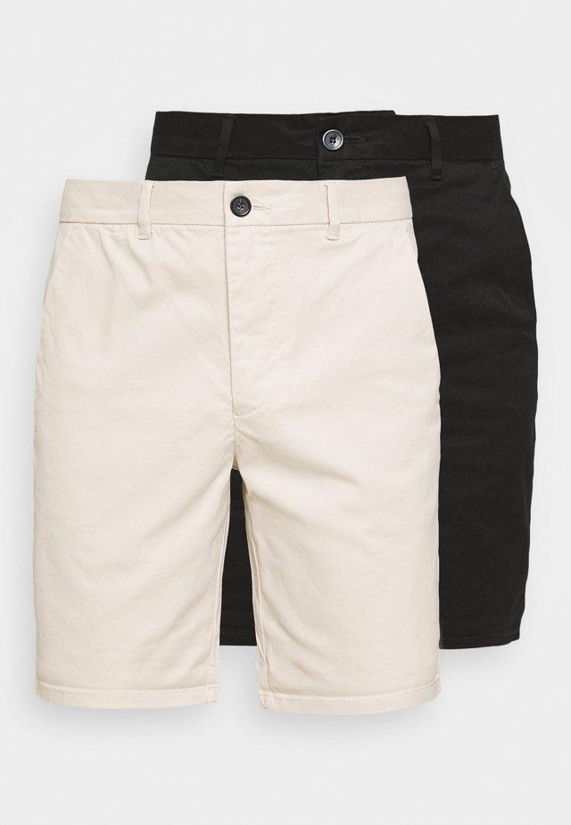 Shorts - stone/black