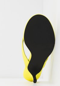 Call it Spring - MYLA - T-bar sandals - bright yellow - 6