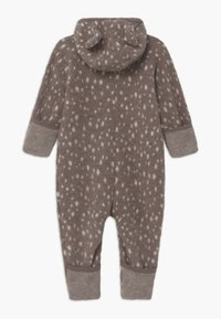 Huttelihut - ALLIE WITH EARS UNISEX - Overall / Jumpsuit /Buksedragter - brown - 1
