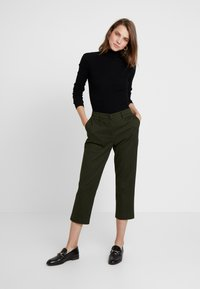 Sisley - TROUSERS - Trousers - olive - 2
